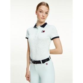TH Naiste Polo Shirt Iconic Monogram OXYGEN