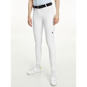 TH Naiste põlvegrippidega püksid Style OPTIC WHITE