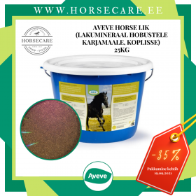 AVEVE Horse Lik (Lakumineraal hobustele karjamaale, koplisse) (25kg)