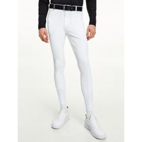Tommy Hilfiger Meeste põlvegrippidega ratsapüksid valge TH Optic White