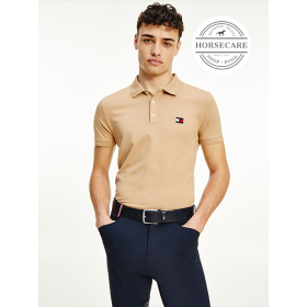 Tommy Hilfiger Meeste Polo helepruun Classic Brown