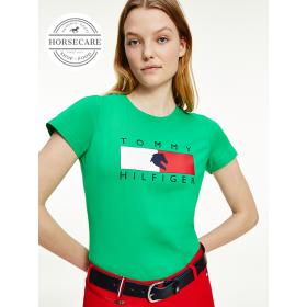 Tommy Hilfiger Naiste T-Särk roheline