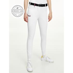 Tommy Hilfiger Naiste põlvegrippidega ratsapüksid Performance valge OPTIC WHITE
