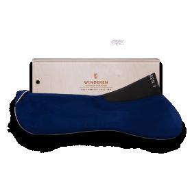 WINDEREN sadulapehmendus Dark Blue/Rose Gold 18mm